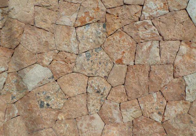 Muro de piedra viva